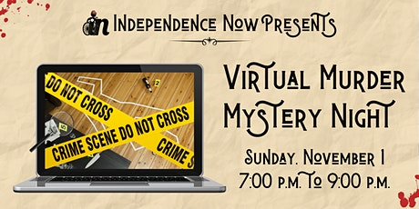Virtual Murder Mystery Party tickets