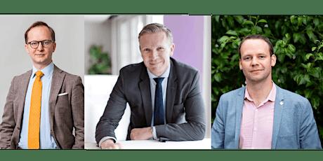 De olika statliga stöden till krisdrabbade företag - paneldebatt tickets