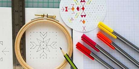 Stitch: Rangoli inspired embroidery online workshop tickets