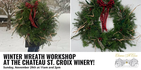 Winter Wreath Workshop tickets