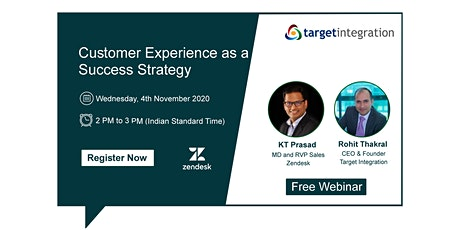 Customer Experience as a Success Strategy tickets