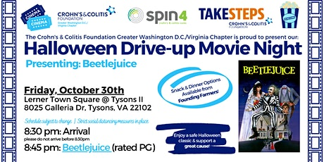Halloween Drive-up Movie Night: Beetlejuice! tickets