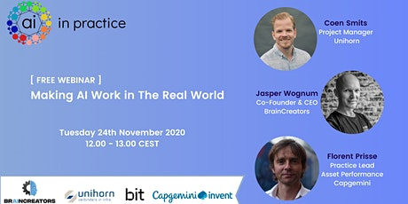 AI in Practice webinar | Adopting AI in asset management tickets