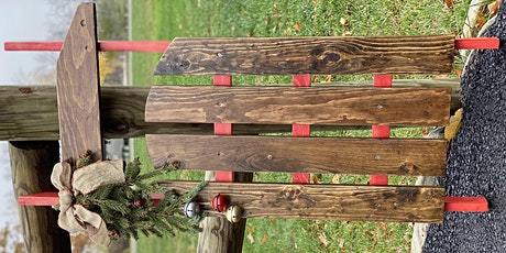 Wooden Holiday Sled Workshop at Point of the Bluff Vineyards tickets