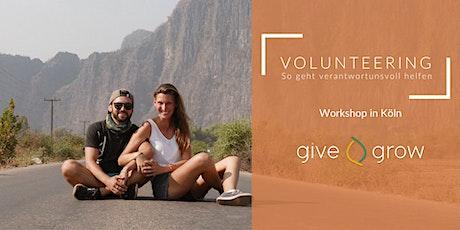 Volunteering - so geht verantwortungsvoll helfen im Ausland Tickets