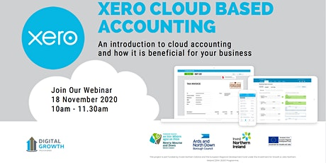 Introduction to Cloud Based Accounting by the Digital Growth Programme tickets