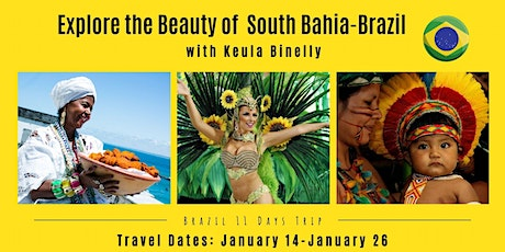 Explore the Beauty of South Bahia-Brazil with Keula Binelly ingressos
