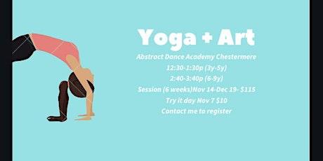 Weekly: Om Star Kids Yoga Art tickets