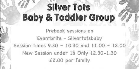 Silver Tots Baby and Toddler Group - Session 3 -UNDER 1's ONLY - 10th Dec. tickets