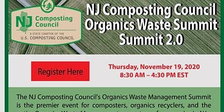 NJ Composting Council Organics Waste Summit - Summit 2.0 tickets