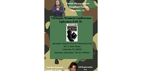 VIRTUOUS WOMEN CONFERENCE-I DECLARE WAR tickets