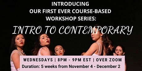 OHDC Workshop Series - Intro to Contemporary tickets