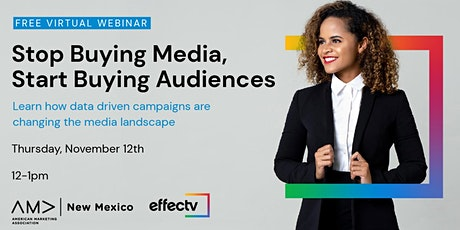 November Lunch & Learn: Stop Buying Media, Start Buying Audiences. tickets