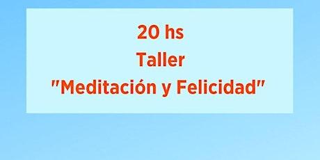 Taller Meditación y Felicidad entradas