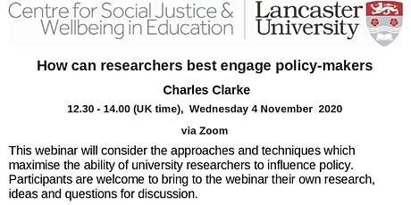 How can researchers best engage policy-makers tickets