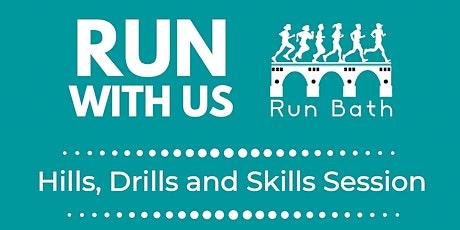 Run Bath Intervals (Skills and Drills) Training tickets