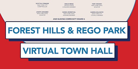 Virtual  Forest Hills and Rego Park Town Hall tickets