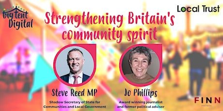 Strengthening Britain's community spirit tickets