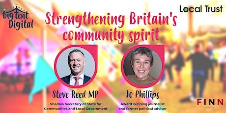 Strengthening Britain's community spirit tickets