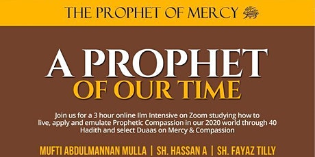 The Prophet of Mercyﷺ tickets