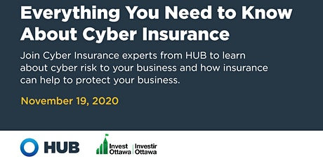 Everything You Need to Know About Cyber Insurance with HUB International tickets