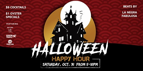 It's a Halloween HAUNT #HAPPYHOUR -- & it lasts ALL NIGHT LONG! tickets