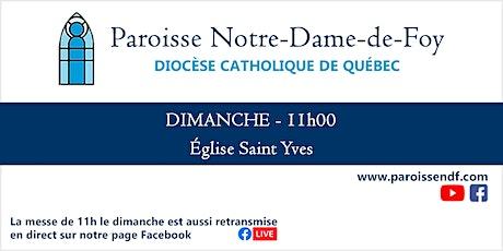 Messe Église St-Yves - Dimanche - 11 h tickets