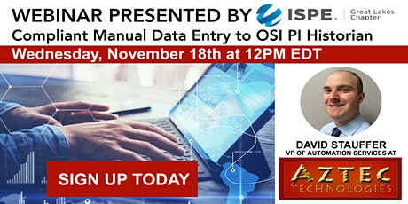 Compliant Manual Data Entry to OSI Historian tickets