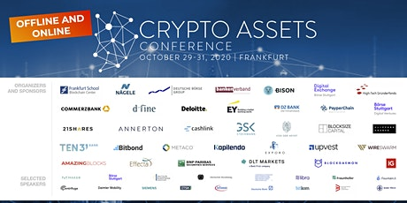 Crypto Assets Conference 2020 - #CAC20B tickets