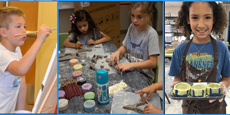 Super Awesome Clay and Canvas Thanksgiving  Camp  11/23, 11/24, and 11/25 tickets