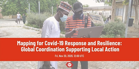 Mapping for COVID-19 Response and Resilience Webinar billets