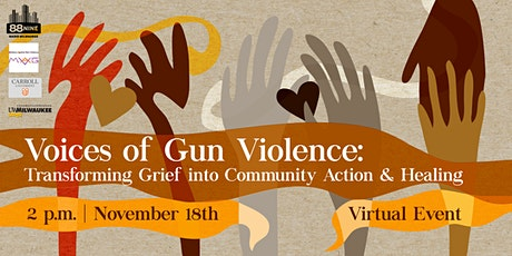 Voices of Gun Violence: Turning Grief into Community Action & Healing tickets