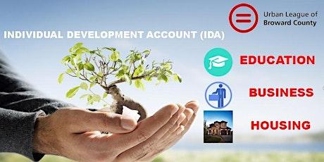 IDA Virtual Orientation tickets