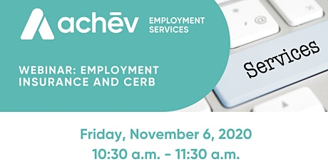 Employment Insurance and CERB Information Session tickets