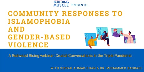 Community Responses to Islamophobia and Gender-Based Violence tickets