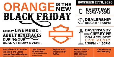 Orange is the new BLACK FRIDAY! tickets