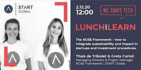 Lunch&Learn webinar: How to integrate sustainability & impact in startups? tickets