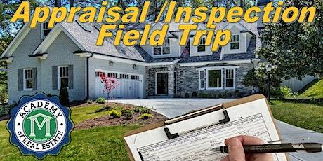3-hr CE Appraisal/Inspection Class with DS Murphy appraiser and inspector tickets