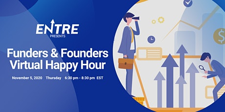 Funders & Founders - Virtual Happy Hour tickets