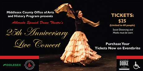 "Alborada Spanish Dance Theatre presents ""25th Anniversary Concert"" tickets"