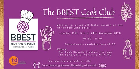 The BBEST Cook Club Batley tickets