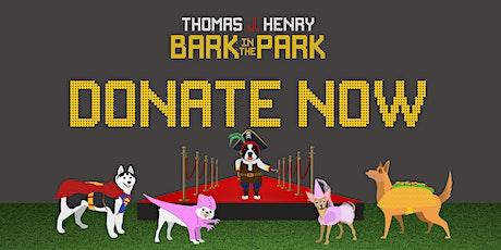 2020 Thomas J. Henry Bark in the Park (Donations) tickets