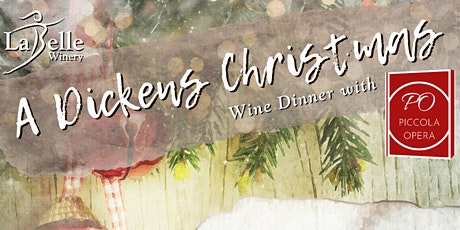 A Dickens' Christmas Wine Dinner with Piccola Opera tickets