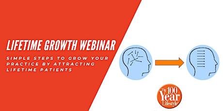 Lifetime Growth Webinar tickets