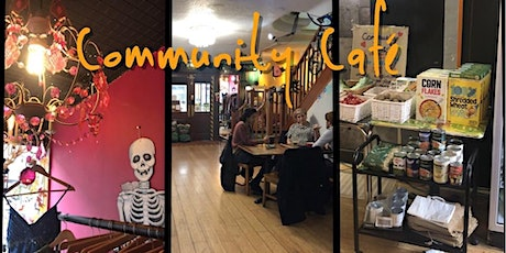 Spooky Community Cafe - lunch at The Art House Saturday 31 October 2020 tickets