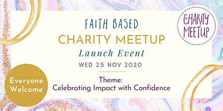 Charity Meetup - Celebrating impact with confidence tickets