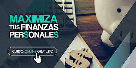 Curso Online Gratuito Maximiza tus Finanzas Personales entradas