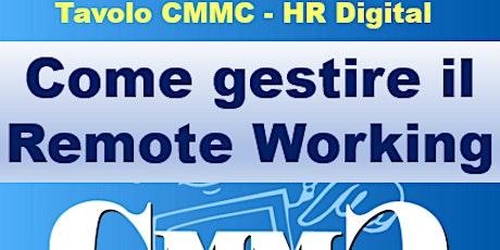 La gestione del remote working - parte1