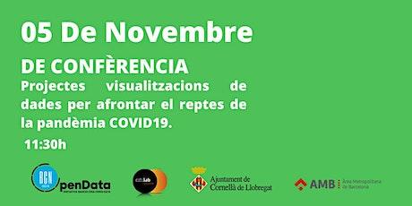 De - Conferència. Projectes de visualització #opendata #COVID19 entradas