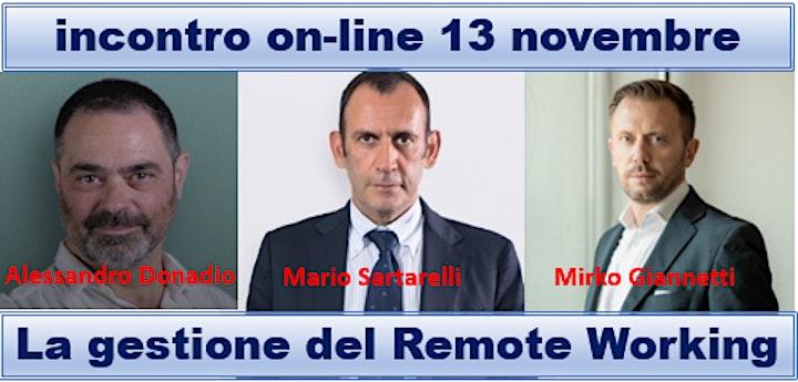 Immagine La gestione del remote working - parte1